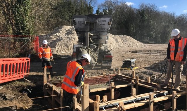 Groundwork block paving