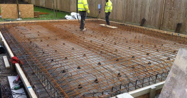 Groundworks construction